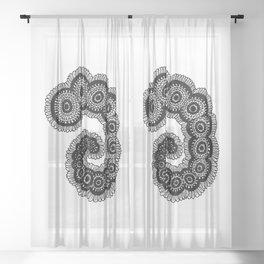 Larvae Sheer Curtain