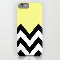 YELLOW COLORBLOCK CHEVRON Slim Case iPhone 6s