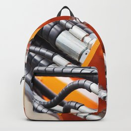 Hoses of hydraulic machine Backpack