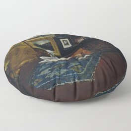 Studio Interior - Digital Remastered Edition Floor Pillow
