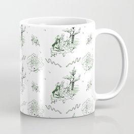 Slytherin Toile Coffee Mug