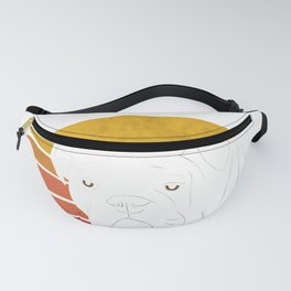 Retro English Bulldog  Fanny Pack