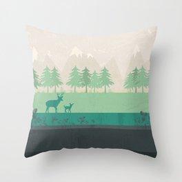 Wilderness Throw Pillow