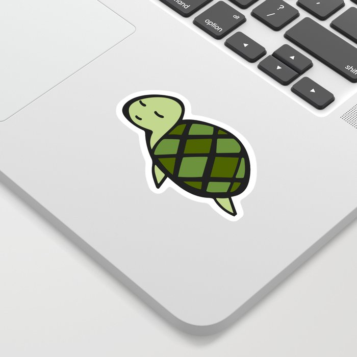 Peaceful Turtle Sticker
