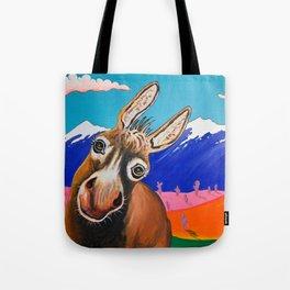 Happy Donkey Tote Bag
