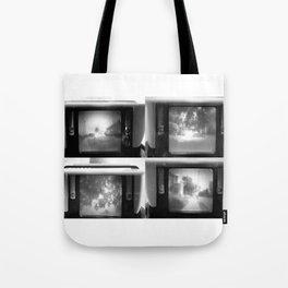 Vintage Walk Thru Neighborhood Tote Bag