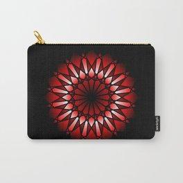 Burnt Umber Wonder Mandala Carry-All Pouch