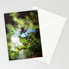 Nigella blossom Stationery Cards