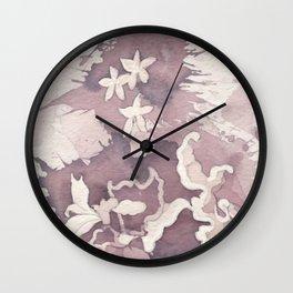 Floral Paisley Wall Clock
