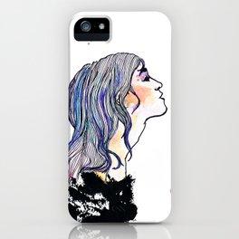 Ein Mädchen. iPhone Case