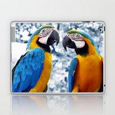 Macaws chatting Laptop & iPad Skin