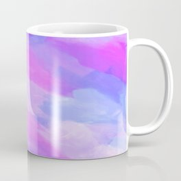 Watercolor Abstract Texture in Pastel Colors Coffee Mug