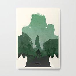 Halo 3 Metal Print