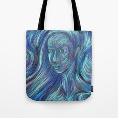 frozen fire Tote Bag