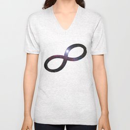 Infinty and Beyond Unisex V-Neck