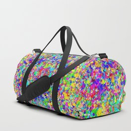 Cosmic Static Duffle Bag