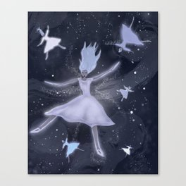 Snowflake Dance Canvas Print