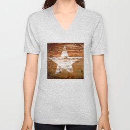 Faded Star Unisex V-Neck