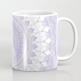 Boho Pastel Purple Mandala Coffee Mug