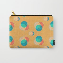Cute Color Wheel Seamless Pattern Carry-All Pouch