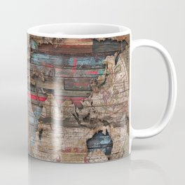 Distress World Coffee Mug