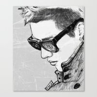 exo Canvas Prints featuring Kris (Wu Yifan) // EXO by BucketsofBroke