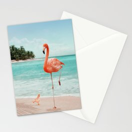 WANNABE FLAMINGO Stationery Cards