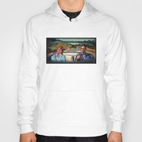 law Hoodies featuring The Law by Brittany W-Smith