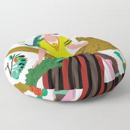 Reptile love Floor Pillow