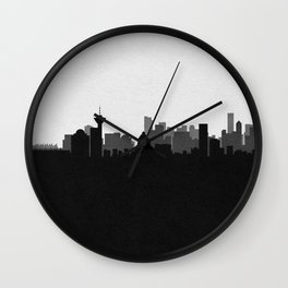 City Skylines: Vancouver Wall Clock