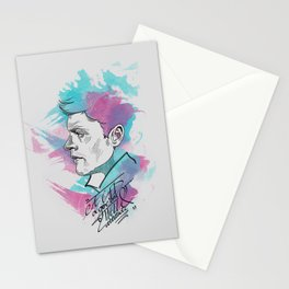 Dean Winchester   a GED and give 'em hell attitude Stationery Cards