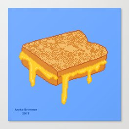 Grilled Cheese Canvas Print