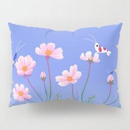 Cosmos and shrimp Pillow Sham