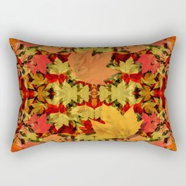 Leaves all Around Rectangular Pillow