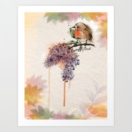 Pretty Bird Art Print