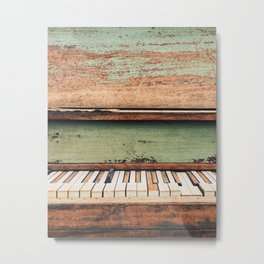 The Dead Keys Metal Print