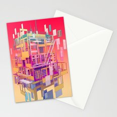 Building Clouds Stationery Cards