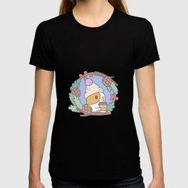 Bubu the Guinea pig, Fall Coffee T-shirt