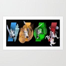 Castle Crashers Art Print