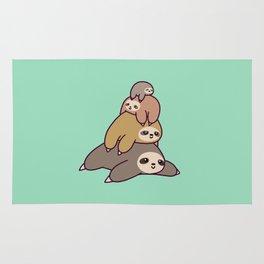 Sloth Stack Rug