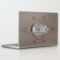 sacred geometry Laptop & iPad Skins featuring Sacred Geometry  by Coreypopp