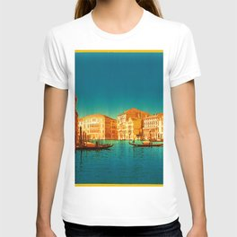 Venice Italy Vintage Original Painting T-shirt