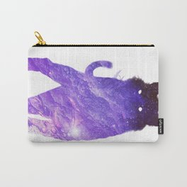 Space Cat // Galaxy Tiger // Guardian of the Purple Nebula Carry-All Pouch