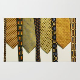 Load of Ties - Yellow 1 Rug