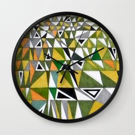 Tetris n. 4 Wall Clock