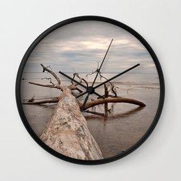 Dead Tree Bay Wall Clock
