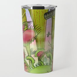 Plants Vs Planes Travel Mug