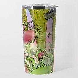 Plants Vs Planes Travel Mug