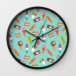 Ice Cream Dream Wall Clock