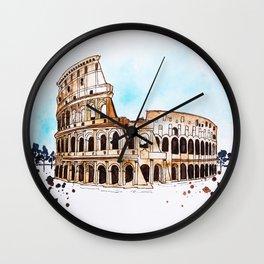 Colosseum Wall Clock